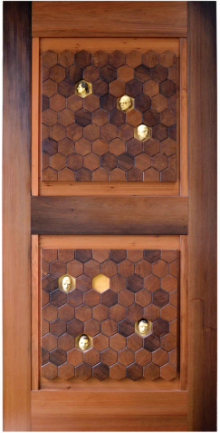 Hexagon Door